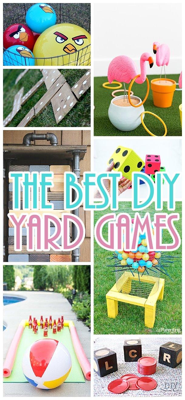 Do it Yourself Outdoor Party Games {The BEST Backyard ...