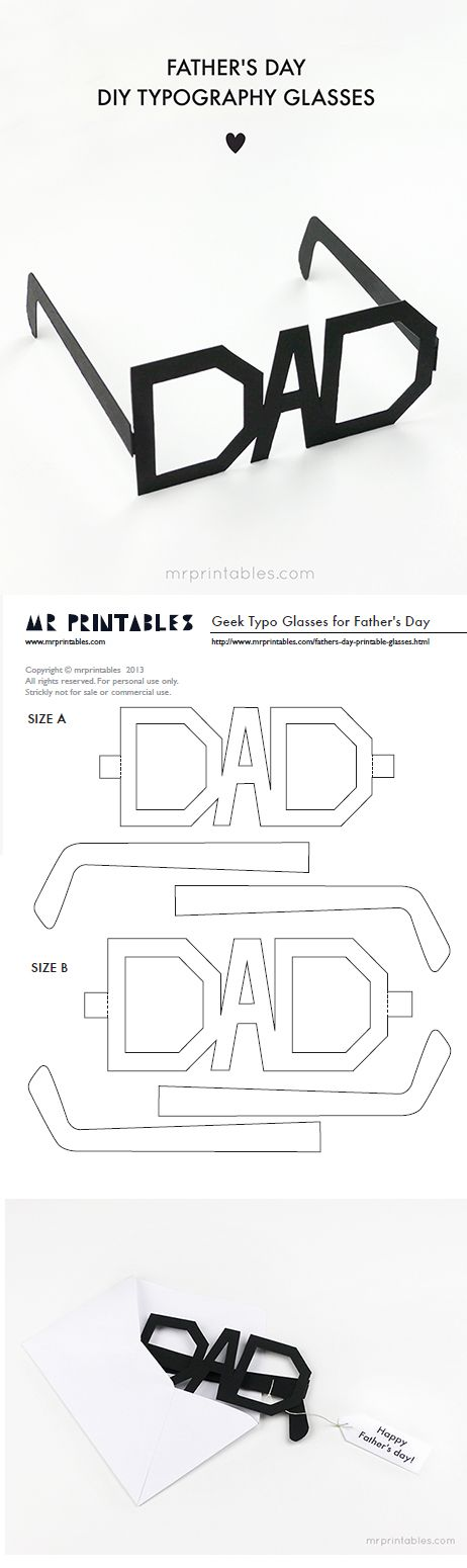picture relating to Printable Fathers Day Cards identify Do-it-yourself Fathers Working day Playing cards The Simplest Totally free Printable Paper Crafts
