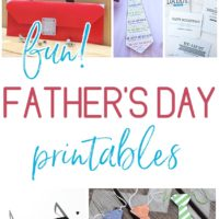 Free and Fun Fathers Day Printables - Cards and Paper Crafts Perfect for Dads and Grandpas