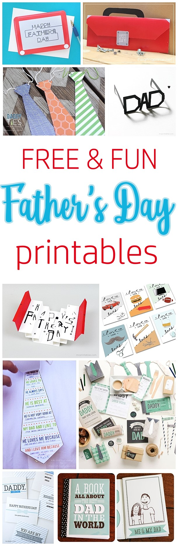 photo regarding Cool Printables titled Do-it-yourself Fathers Working day Playing cards The Simplest Absolutely free Printable Paper Crafts