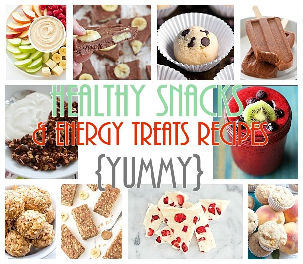 The BEST Healthy Snacks and Treat Recipes - even your picky eaters will love these!