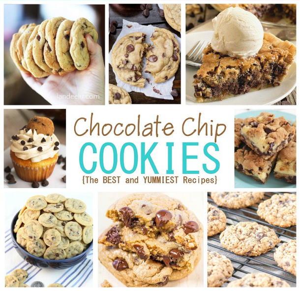 The BEST Chocolate Chip Cookies And Desserts Recipes – Easy and so Yummy!