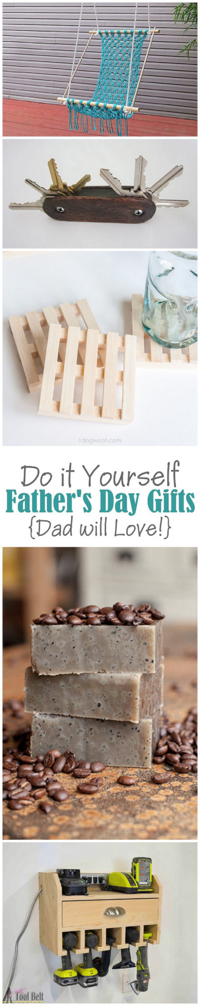 The Best Do it Yourself Projects for Dad this Fathers Day - Really Cool Step by Step Tutorials and Recipes to let Dad know he's your HERO! #fathersday #diygiftsfordad