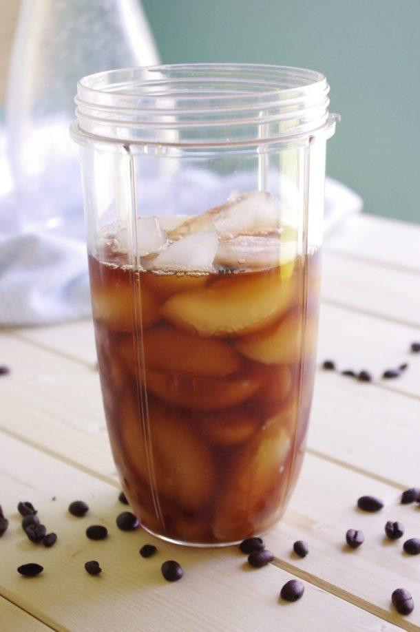 65 Calorie Skinny Caramel Vanilla Blended Iced Coffee Recipe - 2 C Coffee