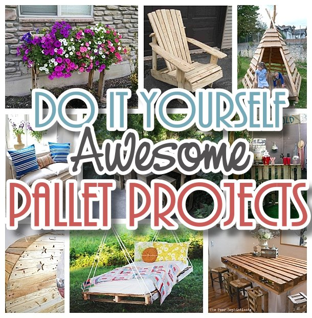DIY Pallet Projects {The BEST Reclaimed Wood Upcycle Ideas