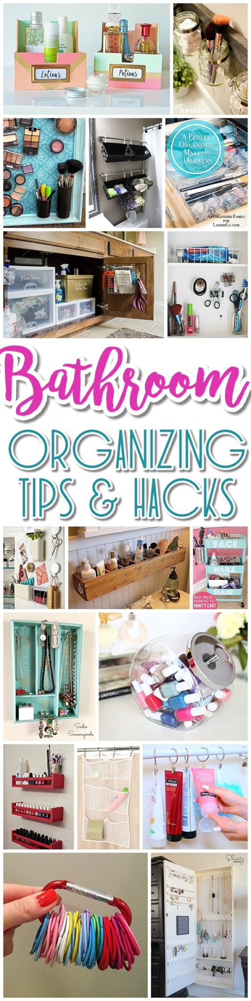 Easy inexpensive do it yourself ways to organize and decorate your easy inexpensive do it yourself ways to organize and decorate your bathroom and vanity the solutioingenieria Image collections