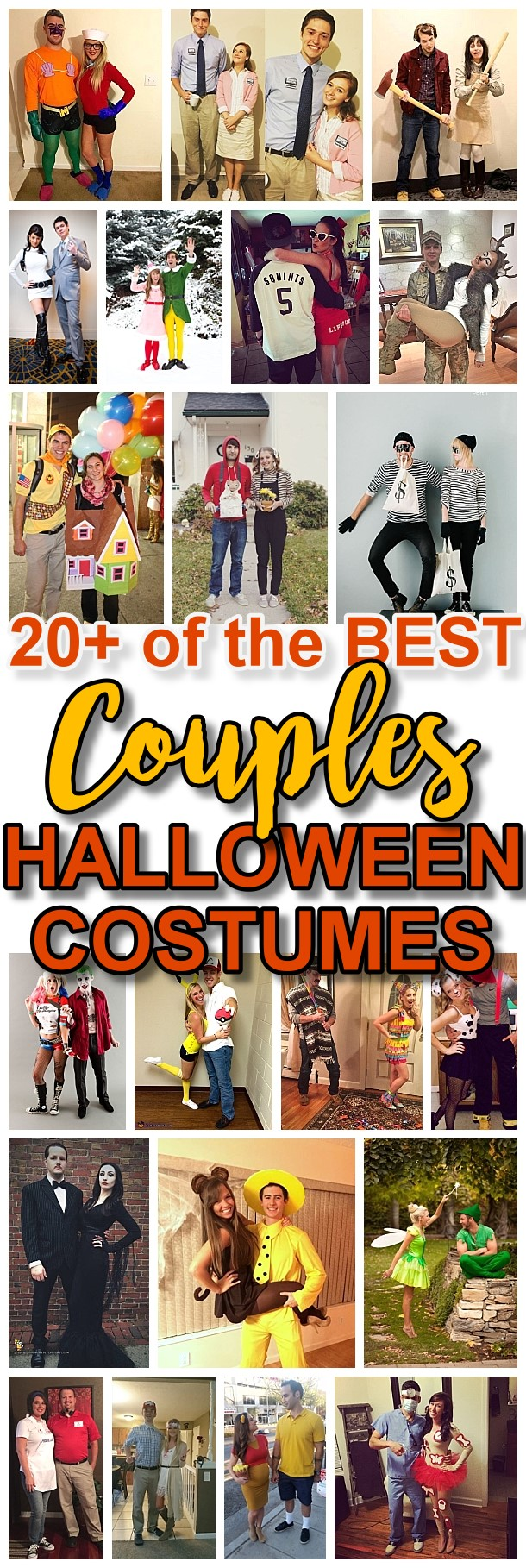 DIY Couples Halloween Costume Ideas - Do it Yourself Homemade Couples Costume Ideas that are SO FUN to make and are sure to be a big hit at Halloween Parties