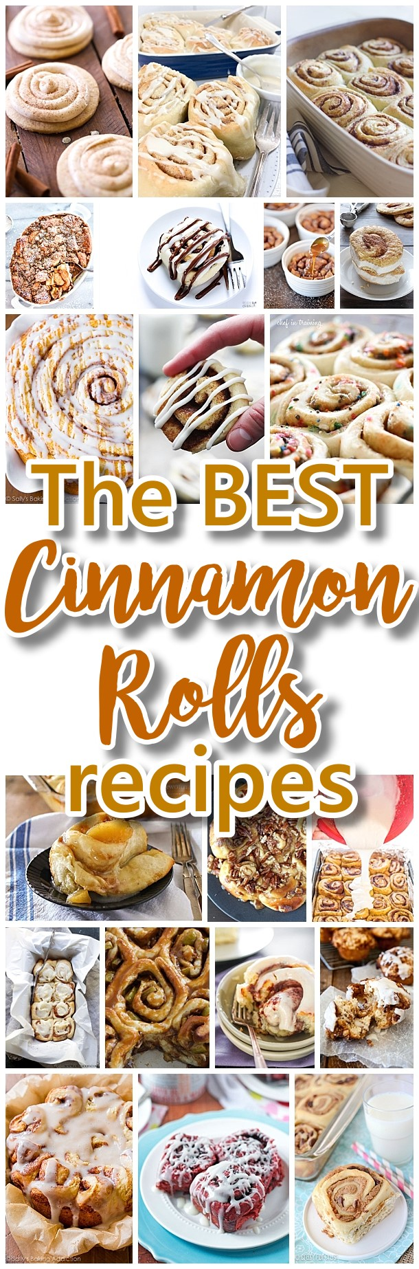 The BEST Cinnamon Rolls Recipes - The Perfect Treats Recipes for Breakfast, Brunch, Birthday Celebrations, Desserts, Christmas Morning, Special Occasions and Holidays #cinnamonrolls #christmasbreakfast #cinnamon #cinnamontreats #cinnamonrollsrecipes #cinnamondesserts #breakfastrolls #sweetrolls