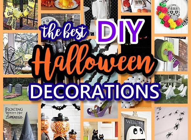 Spooktacular Halloween DIYs, Crafts and Projects - The BEST Do it Yourself Halloween Decorations
