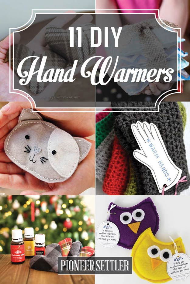 The best do it yourself gifts fun clever and unique diy craft 11 diy hand warmers to make yourself what fun and useful gifts for winter and solutioingenieria Images