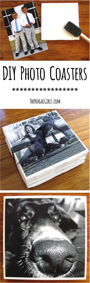 The best do it yourself gifts fun clever and unique diy craft use this how to make photo coasters tutorial to make the perfect gift diy photo solutioingenieria