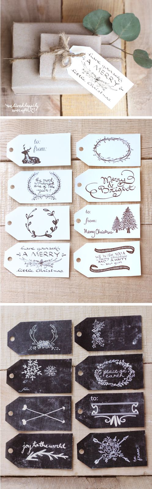 Pretty Variety of Free Printable Christmas Gift Tags | We Lived Happily Ever After - The BEST Christmas and Holiday FREE Printables - Gift Tags - Gift Card Holders - Christmas Greeting Cards and more FREE Downloadable Printables for the Holiday Seasons #christmasprintables #freechristmasprintables #christmascards #christmasgifttags #printablechristmascards #printablechristmasgifttags #christmaspapercrafts