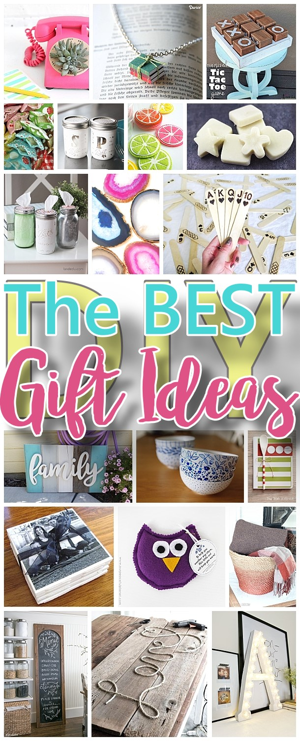 The best do it yourself gifts fun clever and unique diy for Unique ideas for christmas gifts