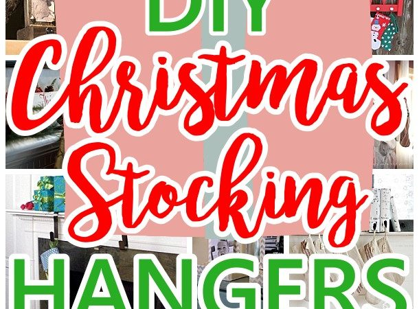 The best diy christmas stocking hangers and display ideas cheap cheap and easy do it yourself christmas stocking hangers and clever ideas and ways to display solutioingenieria Image collections
