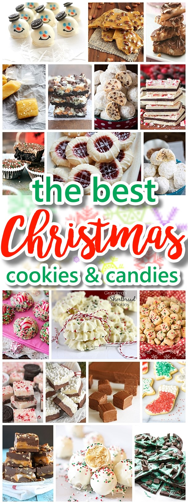 The BEST Christmas Cookies, Fudge, Candy, Barks and Brittles Recipes - Favorites for Holiday Treats Gift Plates and Goodies Bags! Dreaming in DIY #chrstmascookies #christmascandy #christmastreats #holidaydesserts #holidayrecipes #christmascandies #holidaygiftplates