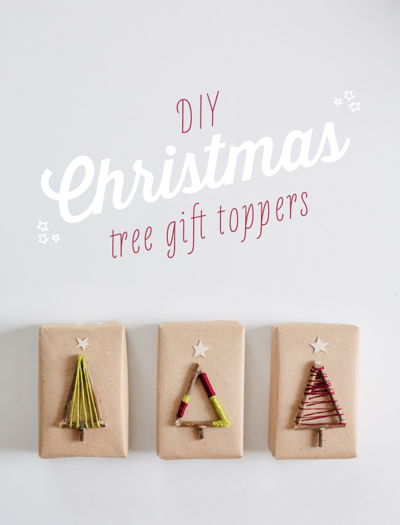 Pretty DIY Twig and Twine Christmas Trees Gift Toppers | Fellow Fellow - The BEST DIY Gift Toppers - Pretty and EASY Inexpensive Handmade Ideas for Christmas, Birthdays, Holidays and any special occasion! #diygifttoppers #DIYGiftwrapping #diygiftwrap #gifttoppers #christmasgifttoppers #diychristmasgifttoppers #birthdaygifttoppers #diychristmasbows