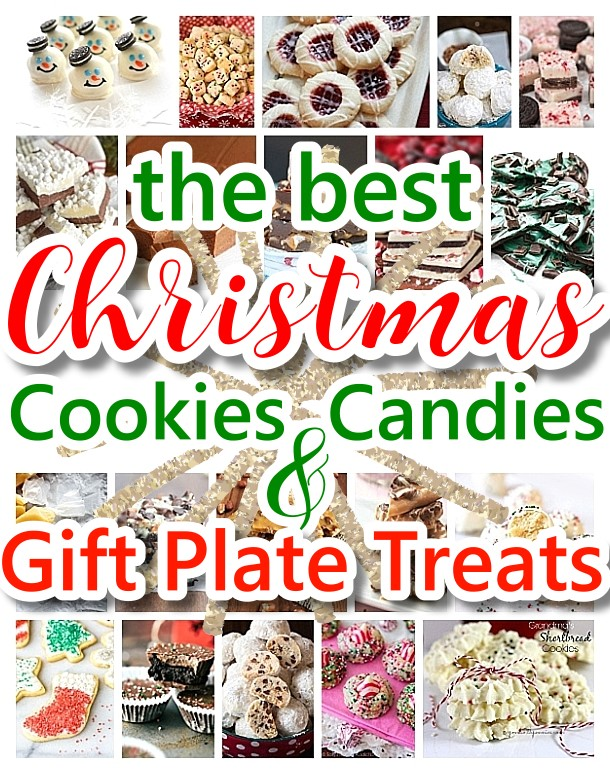 The BEST Christmas Cookies, Fudge, Candy, Barks and Brittles Recipes - Favorites for Holiday Treats Gift Plates and Goodies Bags! Dreaming in DIY