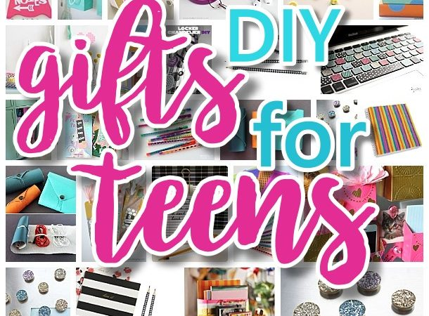 The best diy gifts for teens tweens and best friends for Easy presents to make for friends