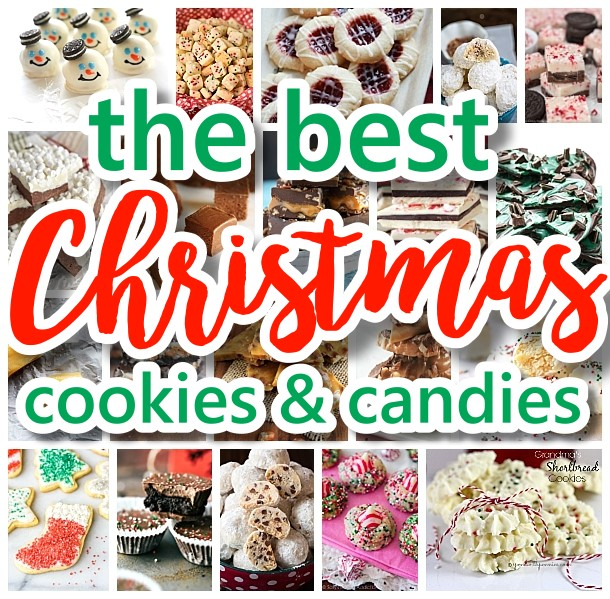 The Best Christmas Cookies Fudge Candy Barks And