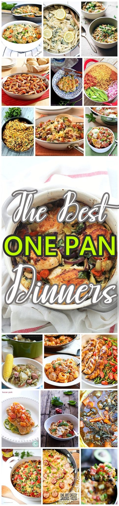 The BEST Easy and Delicious ONE POT Recipes - We've got BEEF, CHICKEN, PORK and VEGETABLE options - something for everyone! Make amazing lunch and dinner meals for your family with less cleanup! Perfect for busy weeknights or anytime you want to make a quick and hearty homemade meal recipe using just ONE pan. - Dreaming in DIY #onepotmeals #onepanmeals #onepotrecipes #onepanrecipes #onepot #onepotdinners #onepotlunches #onepotsuppers