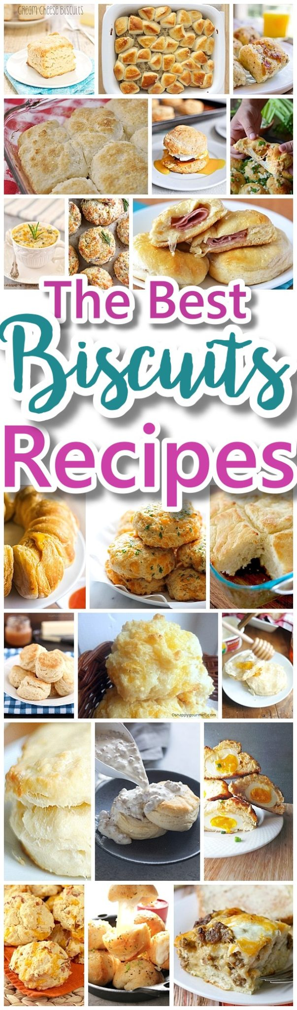 The Best Biscuits Recipes - Quick, Easy and Delicious Bread Sides and Main Dish Ideas for Breakfast, Brunch, Lunch and Family Dinners - Dreaming in DIY