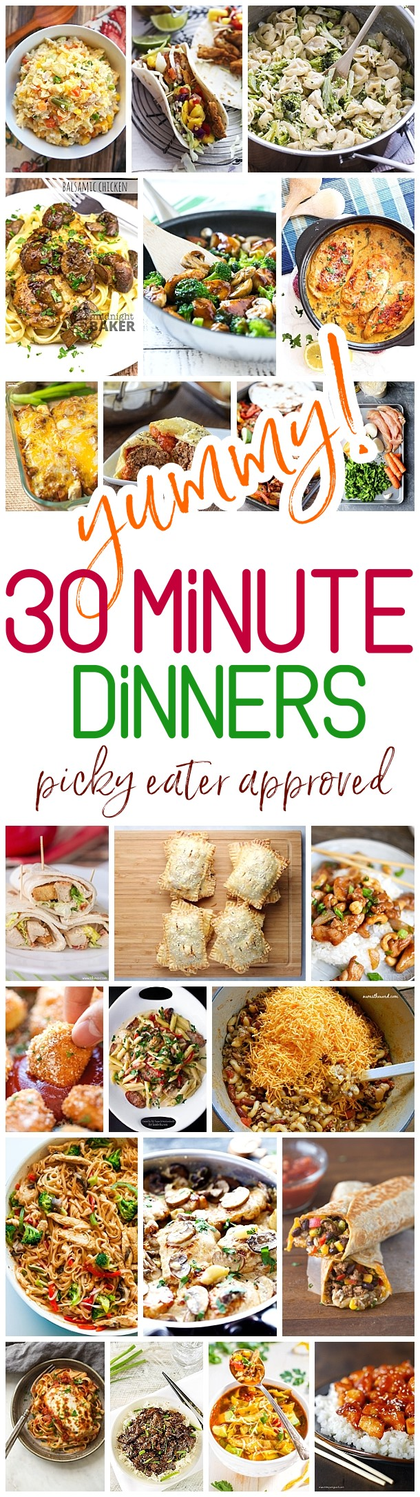 the best 30 minute meals recipes – easy, quick and delicious family