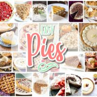 Favorite EASY Pies Recipes - Brunch Dessert No-Bake + Bake Musts for Holidays and Parties - Dreaming in DIY
