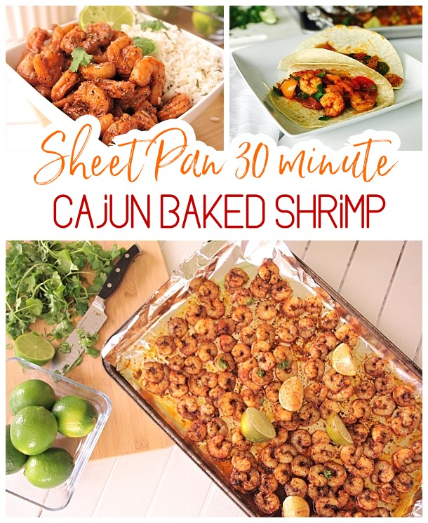 30 Minute Sheet Pan Cajun Shrimp Supper Bowls Or Fajitas