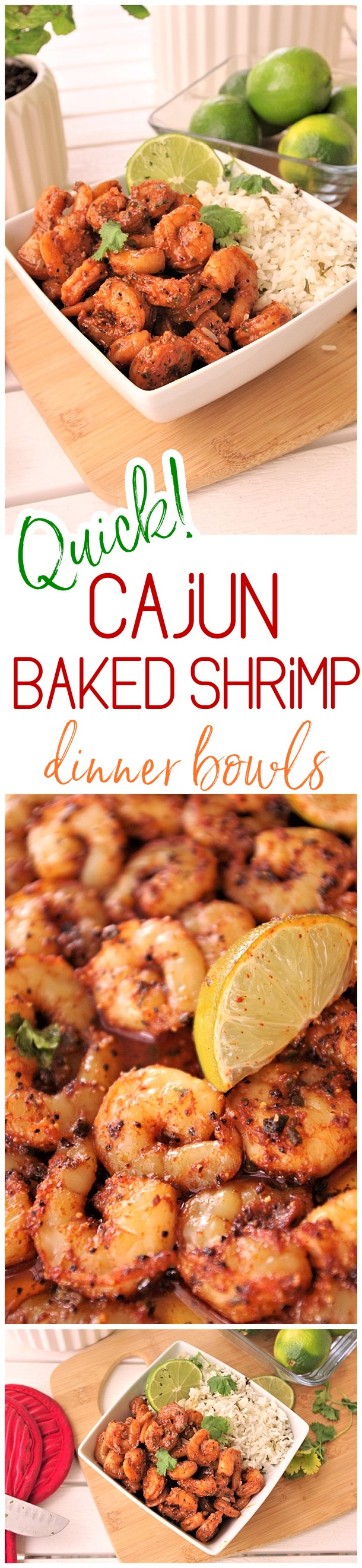 Quick and Easy Cajun Baked Sheet Pan Shrimp Bowls Lunch or Dinner Family Style Recipe - Use it in tacos, meal prep bowls, or over rice or noodles. So versatile and the flavor is so yummy you'll want to eat the entire pan by itself! Dreaming in DIY #quickcajunbakedshrimp #shrimpdinnerbowls #30minutecajunshrimp #cajunshrimp #sheetpanshrimp #shrimprecipes #easyshrimprecipes #quickshrimprecipe #seafood #baked #onepanmeals #fastrecipes #lunchrecipes #dinnerrecipes #healthyquickrecipes #quickandeasyrecipes