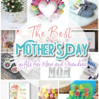 The BEST DIY Mother's Day - Do it Yourself Gift Ideas, Craft Projects and Spring Brunch Treats Recipes for Moms and Grandmas - Easy Holiday Favorites via Dreaming in DIY