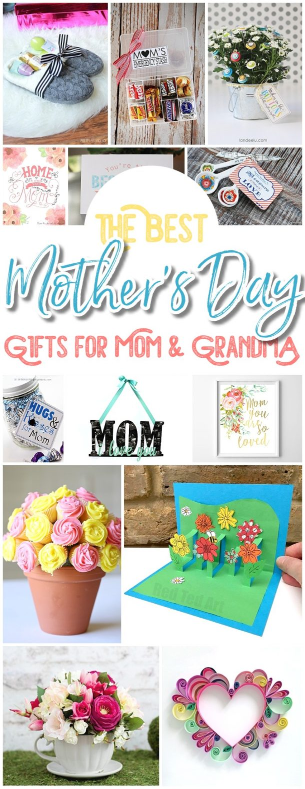 The BEST Easy DIY Mother's Day Gifts and Treats Ideas – Holiday Craft Activity Projects, Free Printables, Kids Paper Crafts and Favorite Brunch Desserts Recipes for Moms and Grandmas - Dreaming in DIY #mothersday #mothersdaygiftideas #mothersdaygifts #mothersdaygiftbasket #diymothersday #diymothersdaygifts #giftbaskets #bakinggiftbasket