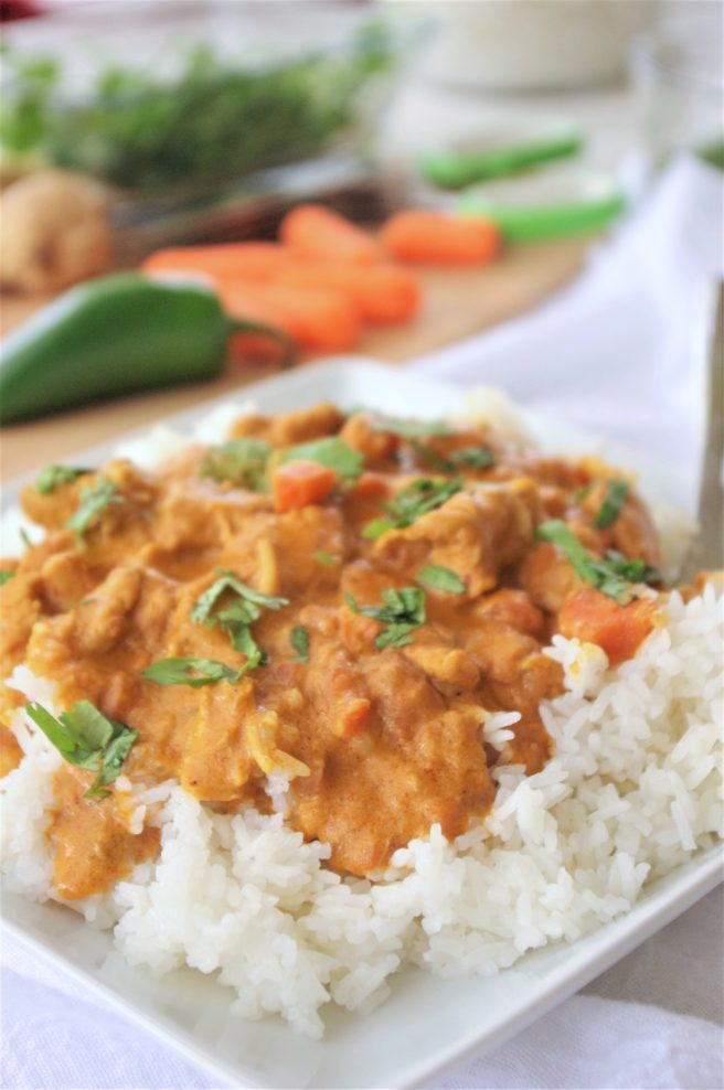 The Best Easy Coconut Curry Crockpot Chicken Family Dinner Recipe Yummy Slow Cooker Meal By