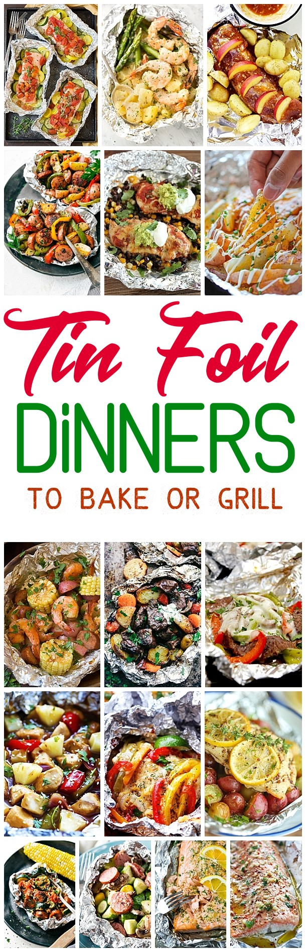 The Best Tin Foil Dinners Recipes To Bake Or Grill  Quick And Easy Meal  Prep