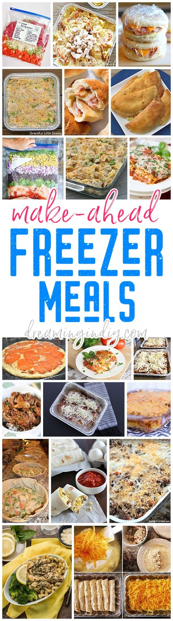 Easy Recipes to Freeze So Your Meals Are Set for the Week
