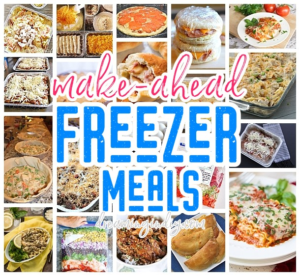 Make Ahead Freezer Meals Recipes Family Meal Prep Solutions