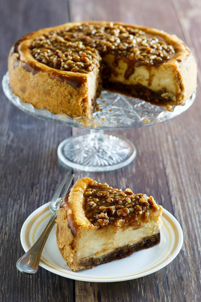 Christmas Dessert Recipes.Pecan Pie Cheesecake Thanksgiving And Christmas Dessert Recipe