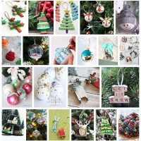 The Best DIY Christmas Tree Ornaments to Make - Easy Handmade Holiday Keepsakes via Dreaming in DIY