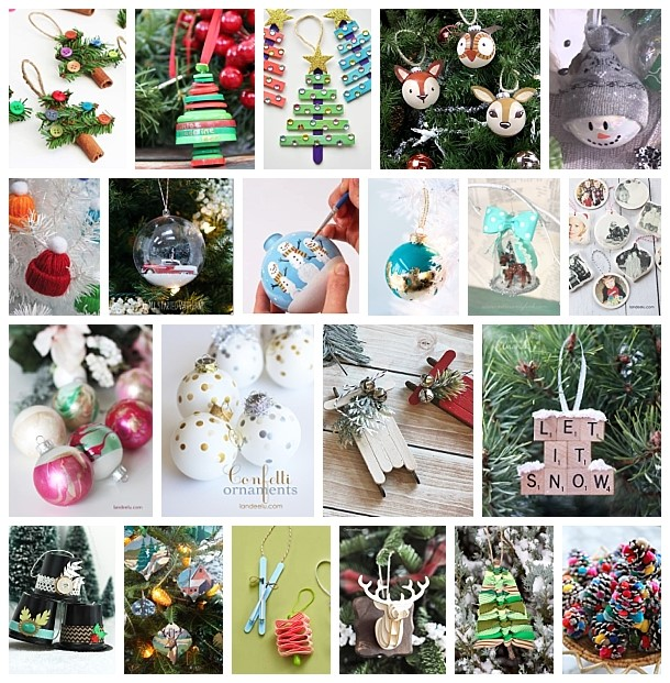 the best diy christmas tree ornaments to make easy handmade holiday keepsakes dreaming in diy - Handmade Christmas Ornaments