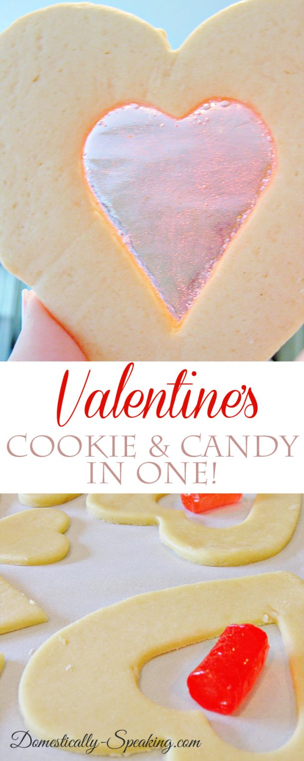 Valentine's Day Cookies and Candy In One | Domestically Speaking - Easy Valentine's Day Dessert Recipes - Pink and Red Party Treats #valentinesdaydesserts #easyvalentinesdaydesserts #valentinesdaytreats #pinkandred #pinkdesserts #reddesserts #valentinesdayparty #valentinesday #heartshapedtreats #hearts #love