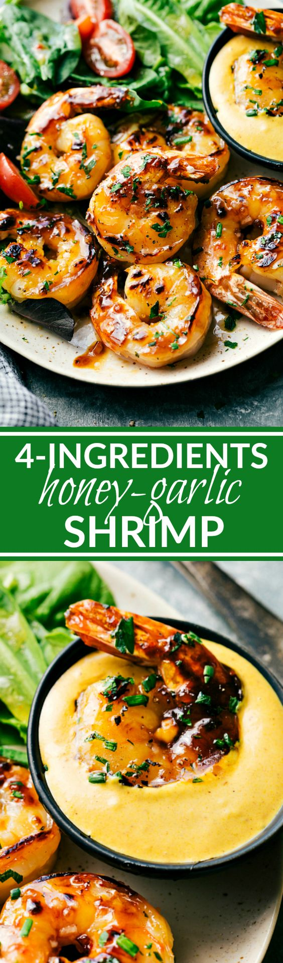 4-INGREDIENT SWEET HONEY LIME SHRIMP | Chelsea's Messy Apron #5ingredientsuppers #5ingredientmeals #5ingredientdinners #5ingredientlunches #5ingredientrecipes #easyrecipes #quickrecipes #simplefamilyrecipes #simplefamilymeals