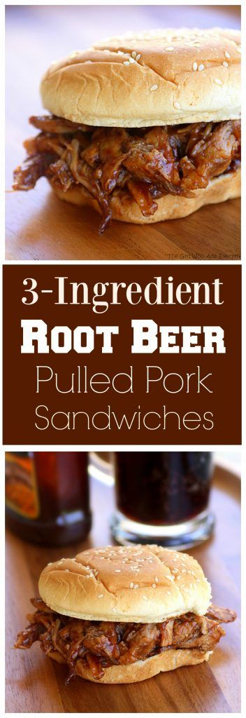 ROOT BEER PULLED PORK SANDWICHES | The Girl Who Ate Everything #5ingredientsuppers #5ingredientmeals #5ingredientdinners #5ingredientlunches #5ingredientrecipes #easyrecipes #quickrecipes #simplefamilyrecipes #simplefamilymeals